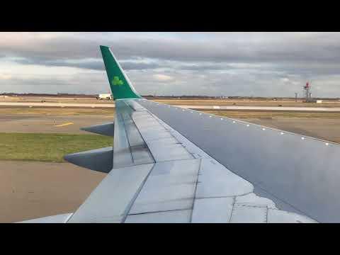 Smooth Aer Lingus 757 landing at JFK