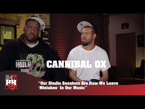 """Cannibal Ox - Our Studio Sessions Are Raw We Leave """"Mistakes"""" In Our Music (247HH Exclusive)"""
