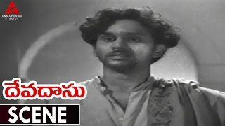 Devadasu Movie    Best Climax Scene    ANR,Savitri