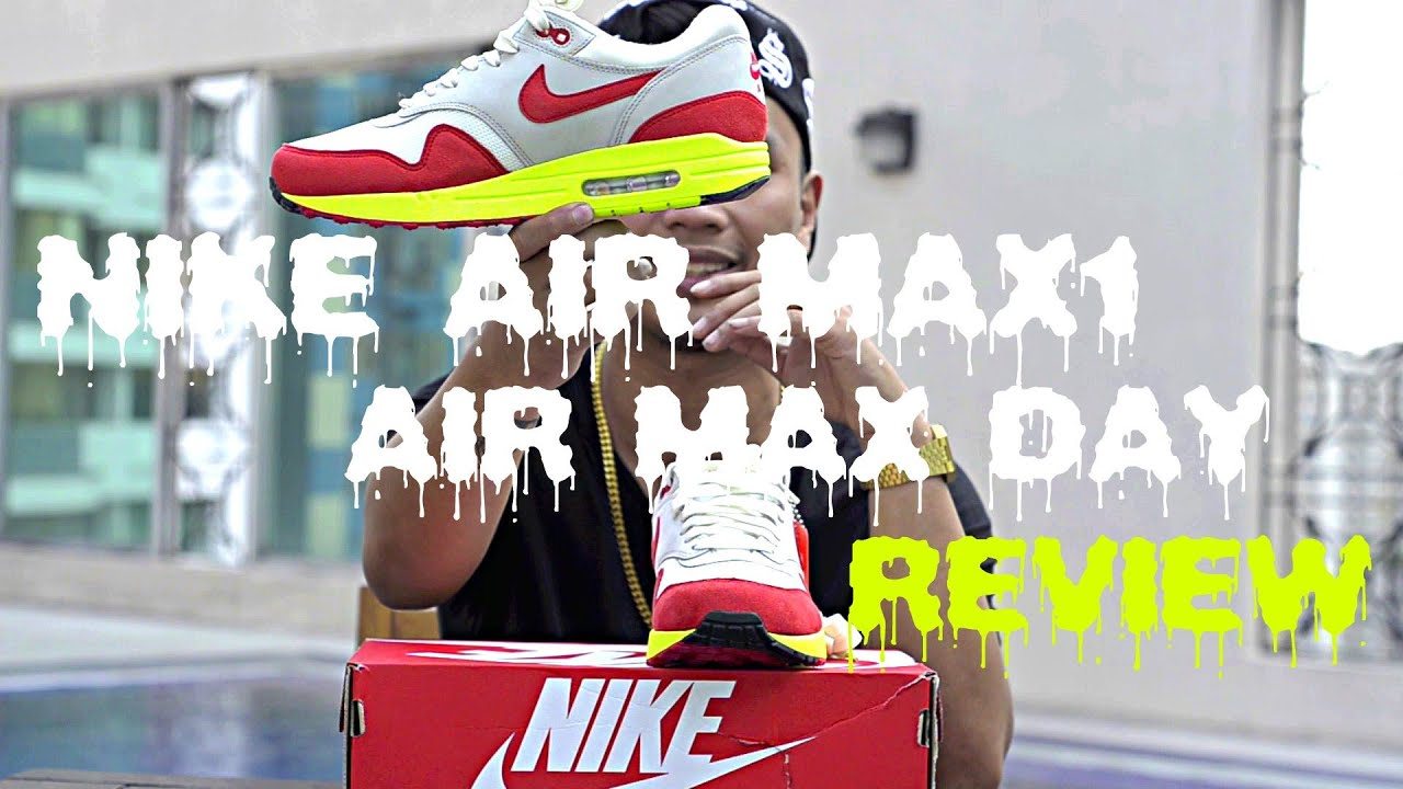 1c405affc6 Nike Air Max 1 Air Max Day Review + On Feet - YouTube