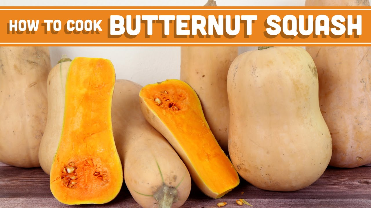 How To Cook Butternut Squash: 4 Ways! Mind Over Munch - YouTube
