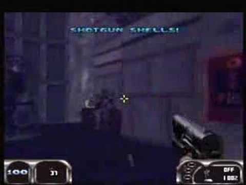 Duke Nukem 64 - Map01 - Hollywood Holocaust