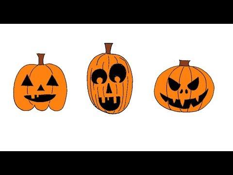 Hoe Maak Je Halloween Pompoenen.Hoe Teken Je Een Halloween Pompoen 3 Manieren