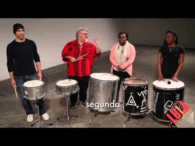 Caixa & Surdo Patterns for GBE's Samba
