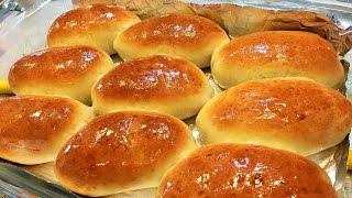 Домашние ПИРОЖКИ С КАПУСТОЙ в духовке. Объедение. Homemade buns with cabbage.
