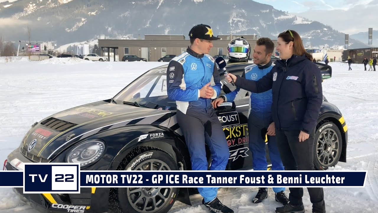 MOTOR TV22: GP ICE Race 2020 in Zell am See - RallyCross Champion Tanner Foust im Interview