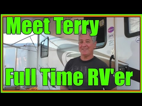 Full Time RV Living | Terry Shows his Rig and Explains the Lifestyle
