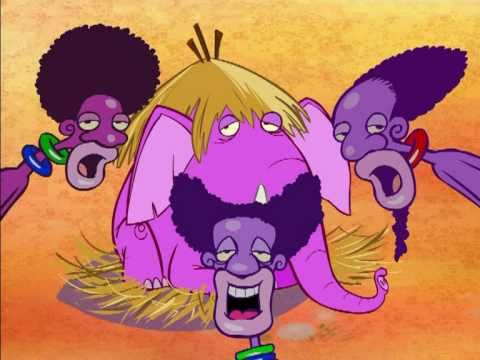 Watussi videoclip cartoon dal dvd cartoni e canzoni