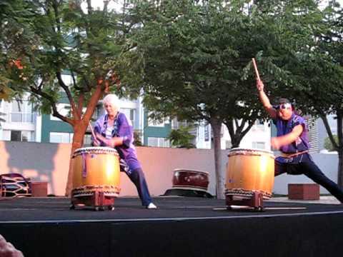 Fushicho Daiko 'Uzushio' at Taiko Ten 2009