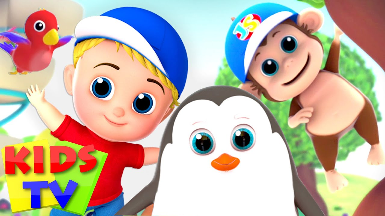 Animal Habitat Song | Junior Squad Cartoon | Nursery Rhymes & Baby Songs - Kids Tv