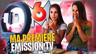 Ma première émission TV sur M6, je vous montre les coulisses !  🎬