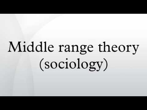 Middle range theory (sociology)
