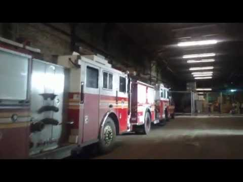 Rare Look At FDNY Spares And New Vehicles Being Stored In Brooklyn