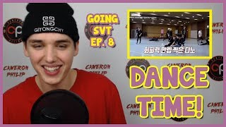 GOING SEVENTEEN EP. 8 REACTION [SWEATY SVT] [ENG SUBS]
