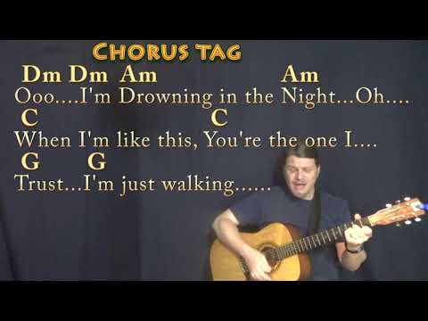 Blinding Lights The Weeknd Strum Guitar Cover Lesson in Am with ChordsLyrics