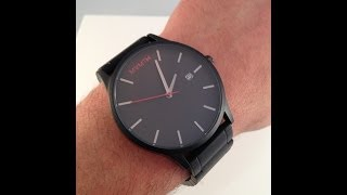 MVMT Watches Black/Black Video Watch Review