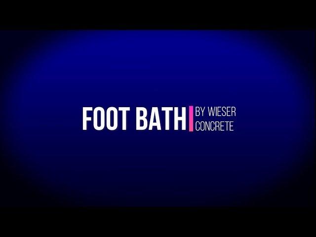 Cattle Foot Bath by Wieser Concrete