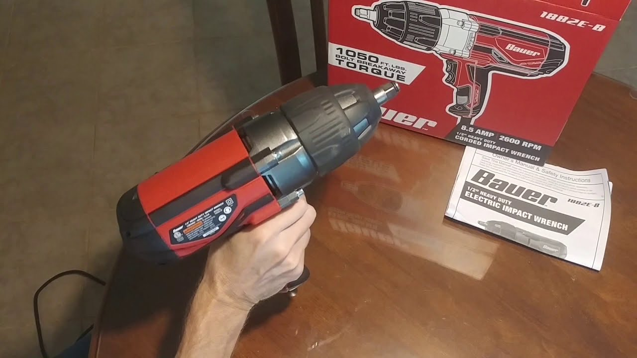 Harbor Freight Electric Impact Wrench Review Part 2