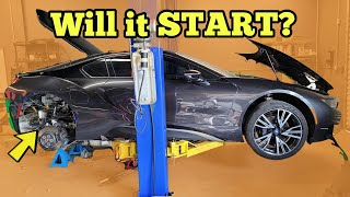 We Repaired the BMW Supercar Engine AGAINST Dealer's Advice with $250 In Parts & tried to start it..