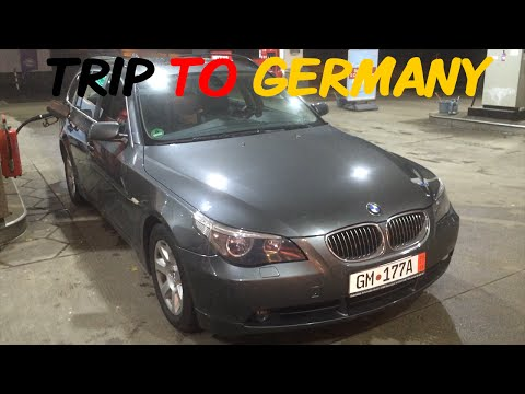 Getting a BMW from Germany travel vlog