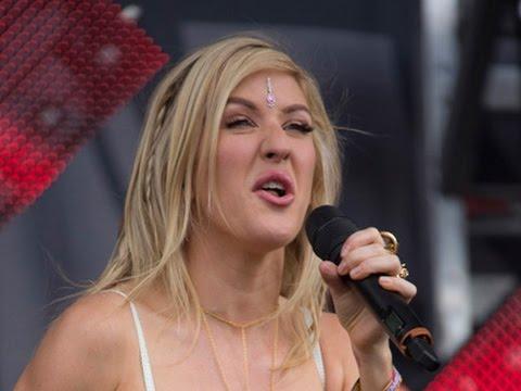 Ellie Goulding Parties In The Bermuda Triangle