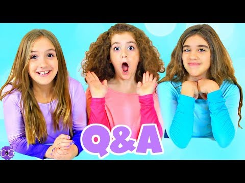 Sisters Q&A! Answers To Your Questions!