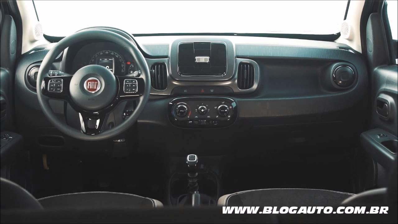 Veja Todo O Interior Do Fiat Mobi Like On 2017 - Blogauto