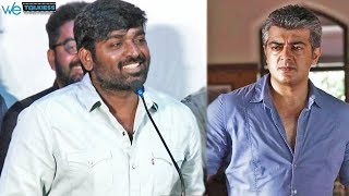 "Tamil naattin ""THALA"" neenga dhan - Vijay Sethupathi bold answer 