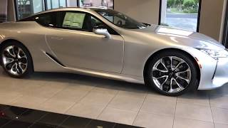 What do you think about the New 2018 Lexus LC500 Coupe exterior/exterior exhaust