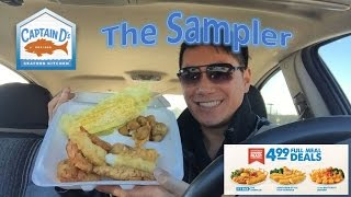 Food review captain d 39 s fish chips watch the video for Captain d s batter dipped fish