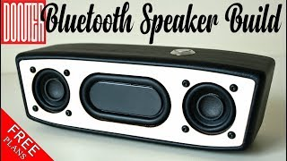 Portable Bluetooth Speaker Build || HOW TO