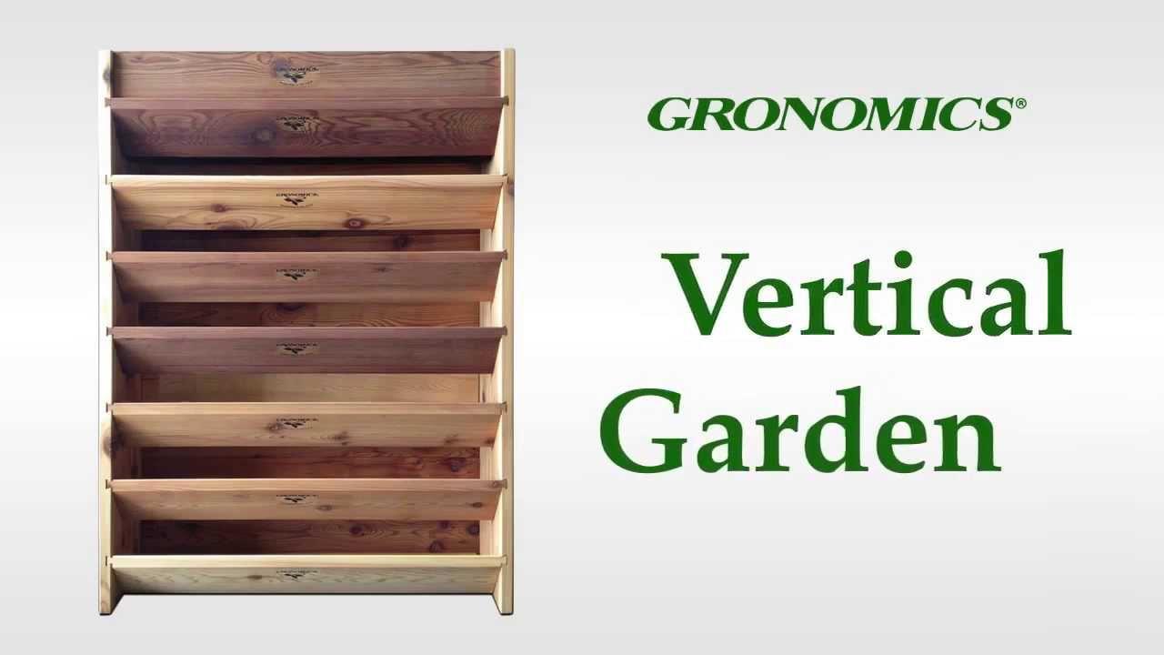 Gronomics Vertical Garden Youtube