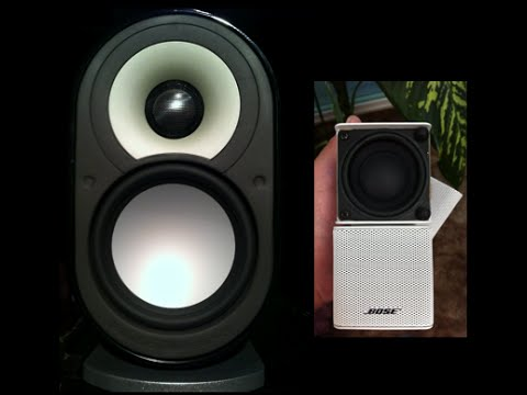 Bose Lifestyle 535 Vs. Paradigm MilleniaOne Speakers