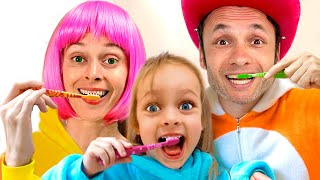 Brush Your Teeth - Kids Song from Maya and Mary