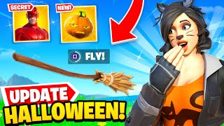 *NEW* HALLOWEEN UPDATE is HERE in Fortnite! (Mythics, Skins + MORE)