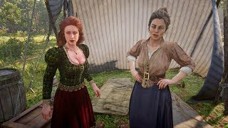 Abigail tells Molly how it is / Hidden Dialogue / Red Dead Redemption 2