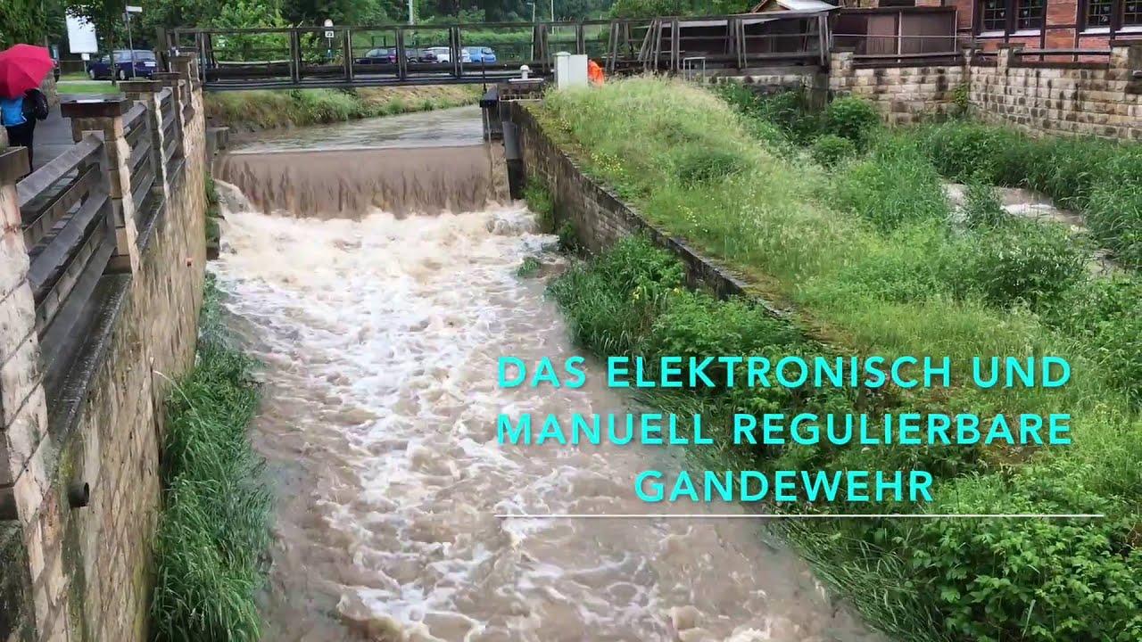 Starkregen bedroht Bad Gandersheim - YouTube
