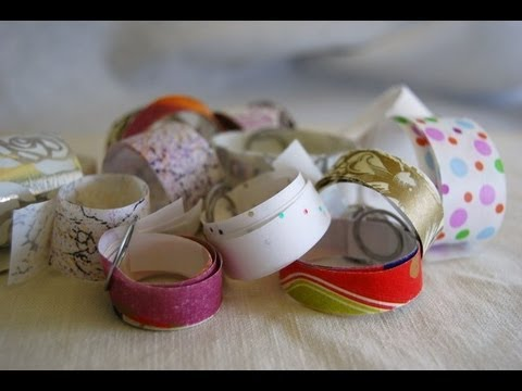 Make Your Own Washi or Paper Tape using the Xyron