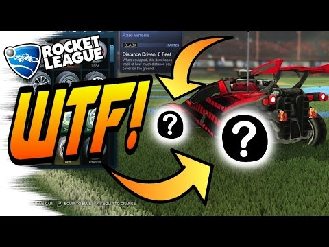 Top 5 WEIRDEST PAINTED WHEELS in ROCKET LEAGUE Trading/Tips (Turbo Crate, Trade Up Items)
