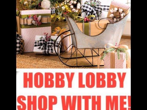 🎄🎁 Hobby Lobby Christmas 2019 Collection 🌲🎁