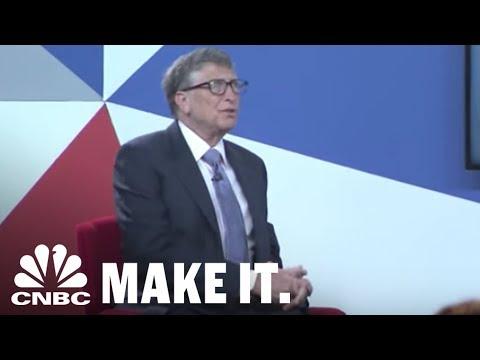 How Bill Gates, Serena Williams, Mark Cuban & Others Spent Their First Big Paychecks | CNBC Make It.