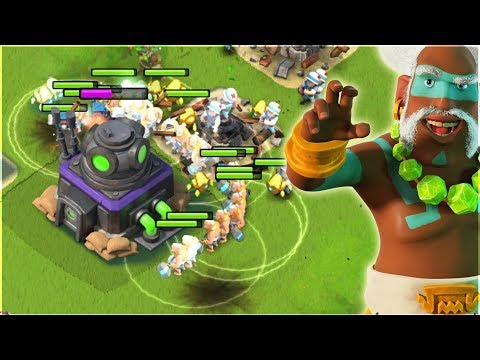 This Healing is CRAZY!! Boom Beach Warriors WITH Medics Strategy!!
