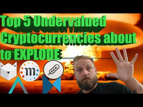 🚀🌕 TOP 5 UNDERVALUED CRYPTOCURRENCIES ABOUT TO EXPLODE