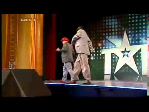 Talent 2008 Denmark Robot dance Two boys dancing electric boogie breakdance