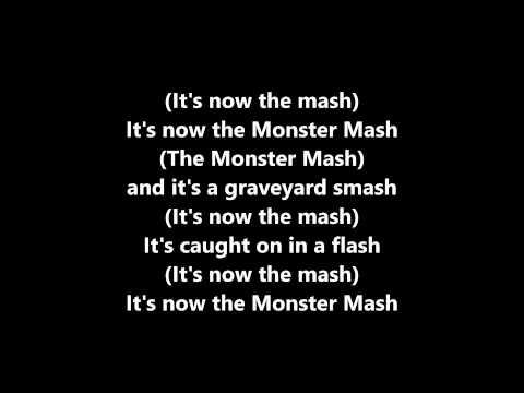 "Lyrics~Monster Mash-Bobby ""Boris"" Pickett"