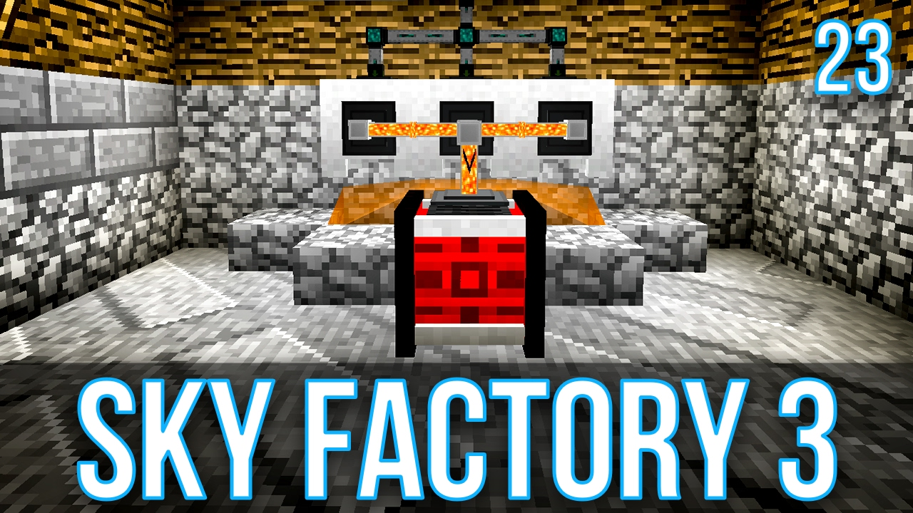 UNLIMITED POWER WITH LAVA | SKY FACTORY 3 | EPISODE 23