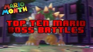 Top Ten Mario Boss Fights