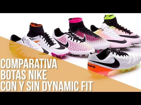 2ef48683a73 Comparativa Botas Nike con y sin Dynamic Fit - YouTube