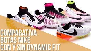 Comparativa Botas Nike con y sin Dynamic Fit