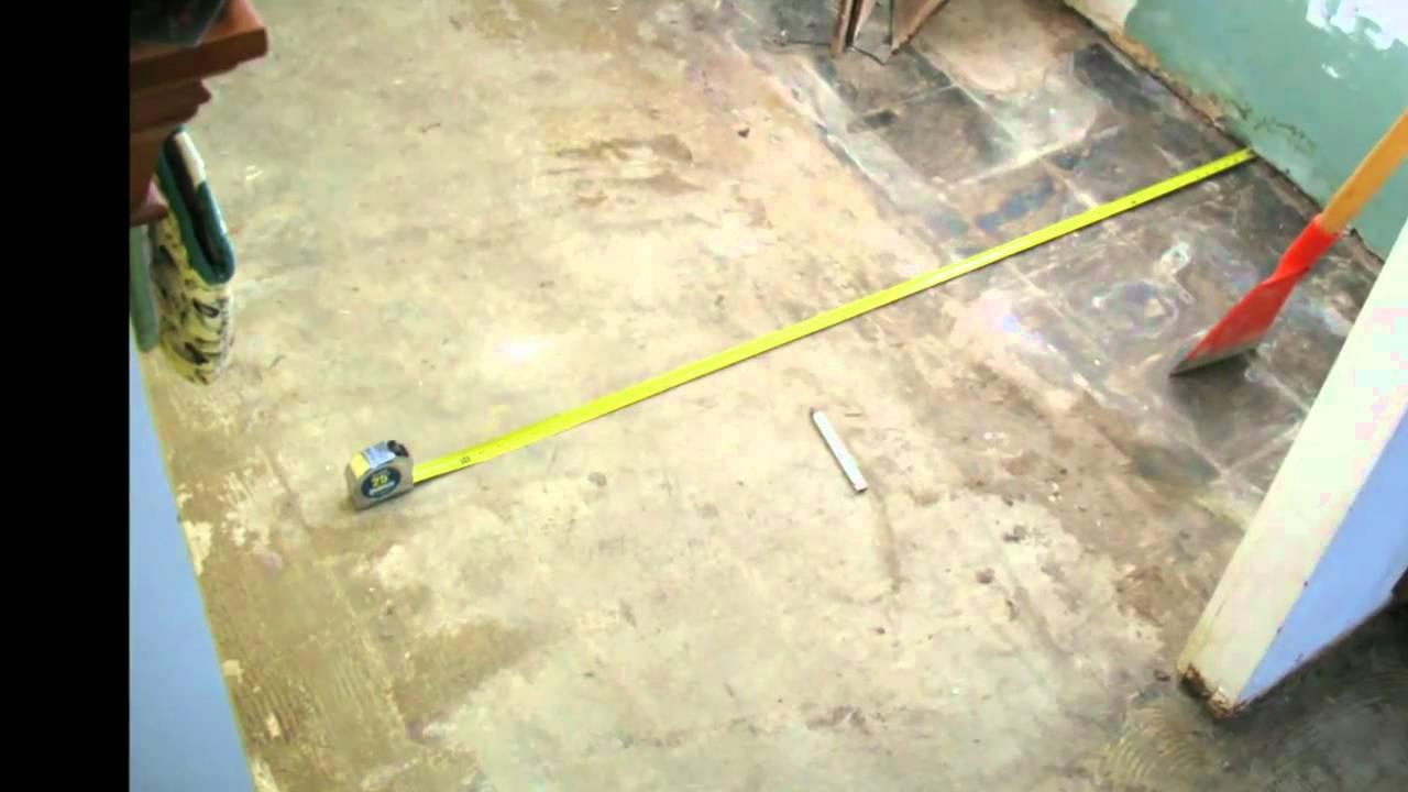 How Clean Should Your Concrete Foundation Be Tile Installation Tips You